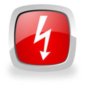 Flash icon — Stock Photo