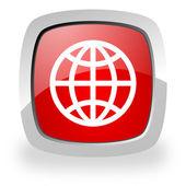 世界图标 — 图库照片