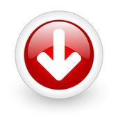 Arrow down icon — Stock Photo