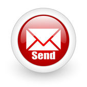 Contact email icon — Stock Photo