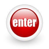 Enter icon — Stock Photo
