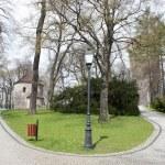 Tower and rotunda on Castle Hill in Cieszyn — Stock Photo #10280537