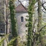 Tower and rotunda on Castle Hill in Cieszyn — Stock Photo #10280856