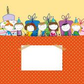 Carta di compleanno — Vettoriale Stock
