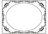 Diploma frame — Stock Vector
