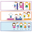 Kids banner — Stock Vector #10517358