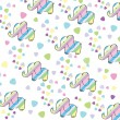 Vetorial Stock : Kids greeting background
