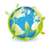 Groene wereld — Stockvector