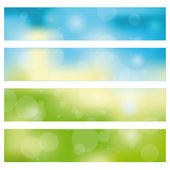 Abstract banner background — Vector de stock