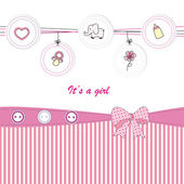 Cute kids card — Vetorial Stock