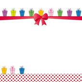 Cartão de aniversário — Vetorial Stock