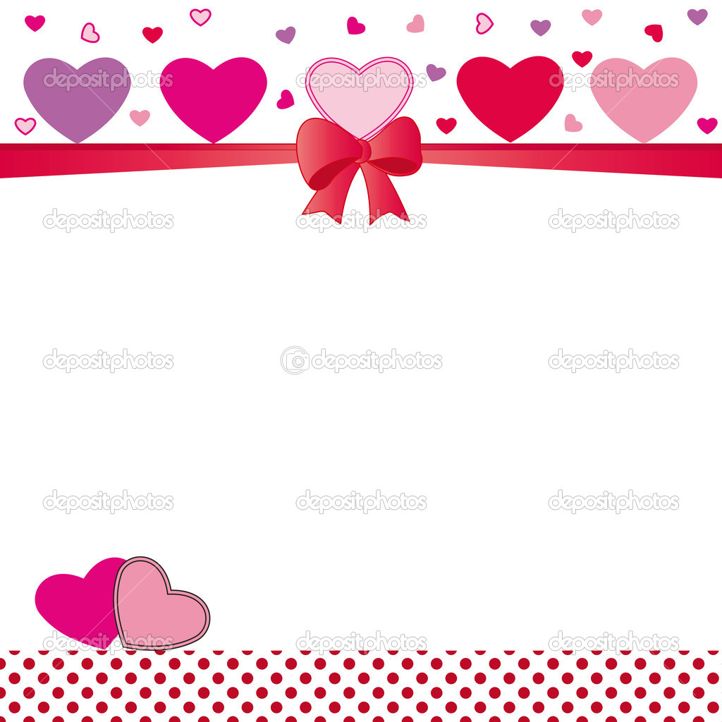 Cute card on valentines day or wedding — Stock Vector #9396873