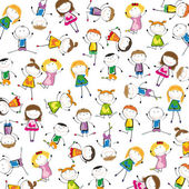 Kids background — Stockvector