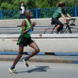 BELGRADE, SERBIA - APRIL 22: James Kiptum Barmasai runs on April 22, 2012 in Belgrade marathon — 图库照片