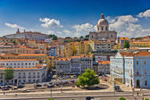 Beautiful view of Lisbon old city, Portugal — Stock Photo