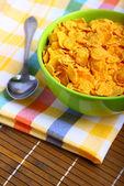 美味的早餐玉米片 — 图库照片