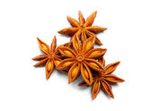 Pack of several anise stars — Stock Photo