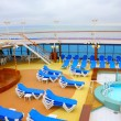 Open deck on a beautiful cruiseship — Stock Photo #8968608