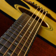 Classic spanish guitar — Stock Photo #9772385