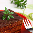 Delicious chocolate cake — Stock Photo #9985671