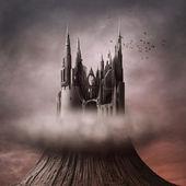 Ruínas na colina — Foto Stock