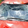 Stock Photo: Windscreen crash