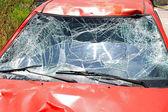 ön cam kazası — Stok fotoğraf