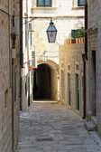 Dubrovnik street — Stock Photo