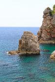 Sea rocks — Stock Photo