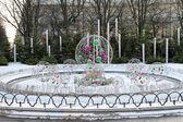 Ciondoli in fontana — Foto Stock