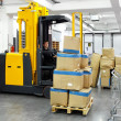 Forklift stacker — Stock Photo #8073849