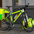 Ambulance bicycle — Stock Photo