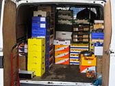 Van delivery — Stock Photo