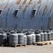 Industrial barrels — Stock Photo #8137209