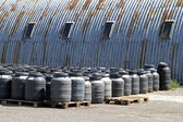 Industrial barrels — Stock Photo