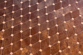 Rhomb tiles — Stock Photo