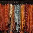 Stock Photo: Necklaces pearls