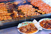 Chicken barbeque — Stockfoto