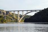 Skradin bridge — Stock Photo