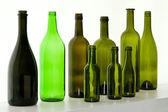 Glass bottles — Stock Photo