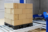 Pallet packing — Stock Photo