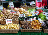 Market stall — Stock Photo