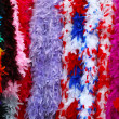 Carnival feathers — Stock Photo