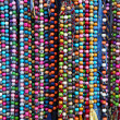 Stock Photo: Colourful necklaces