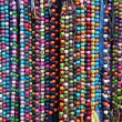 Colourful necklaces — Stock Photo
