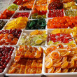 Candied fruits — Stock Photo