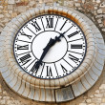 Clock Cannes — Stock Photo