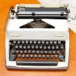 Typewriter — Stock Photo #8929332