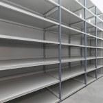 Storage room shelves — Stock Photo #8948870