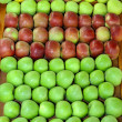 Stock Photo: Apples stall